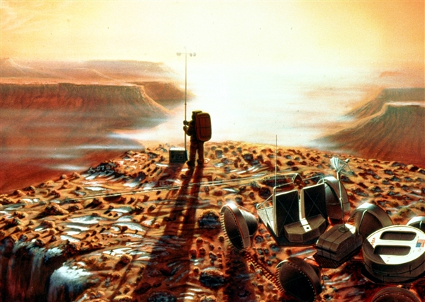 LinkNotes: One-Way Trip to the Red Planet -- Martian ...