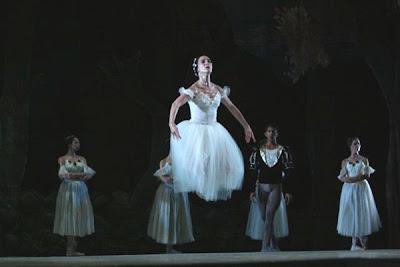 Alihaydée Carreño en Giselle