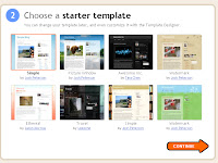 Starting a Blog with Blogger Part 4: Choosing a template.