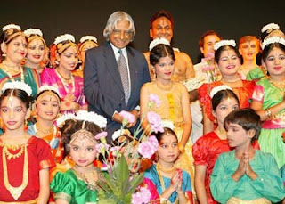 Dr. APJ Abdul Kalam with Children