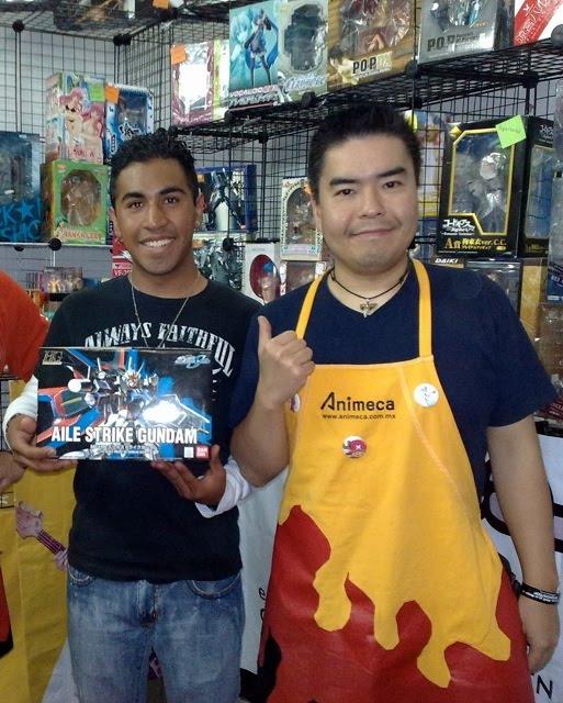 Expo Tnt Stands : El rey de otaku muchas gracias por tú visita al stand