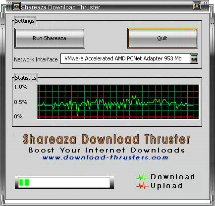 shareaza download thruster