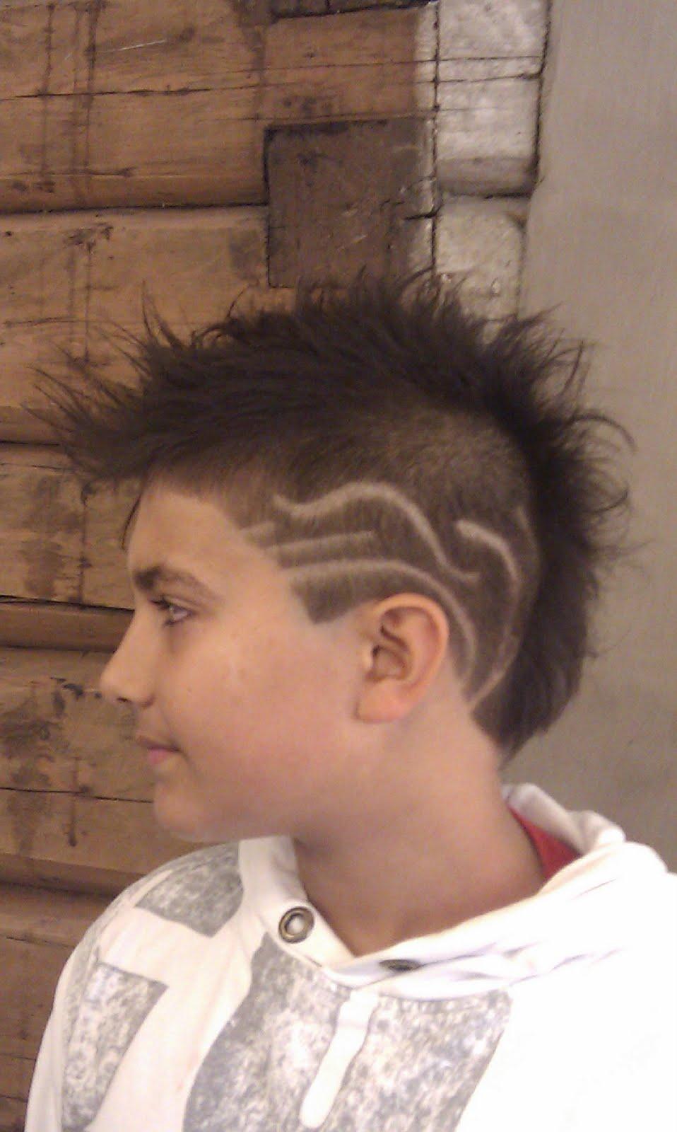 0d0f8150 Mønster i håret