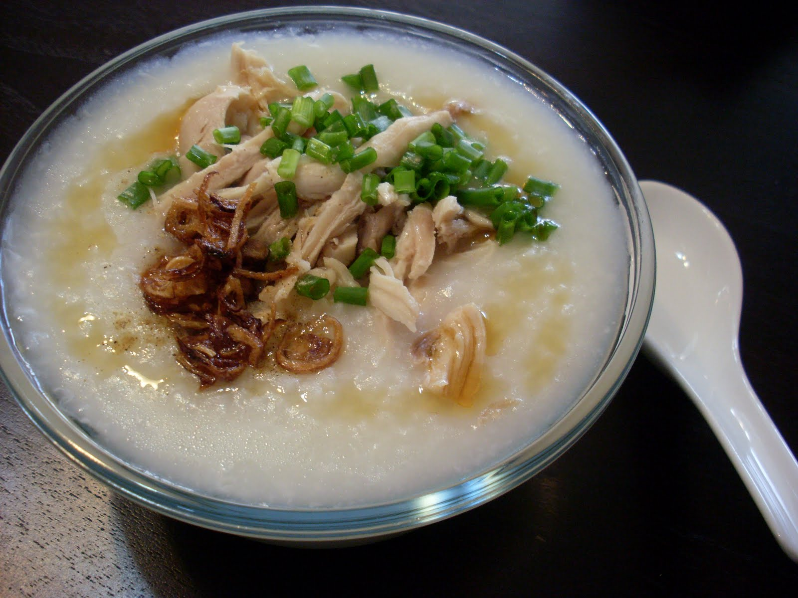 how to cook chicken porridge with rice cooker