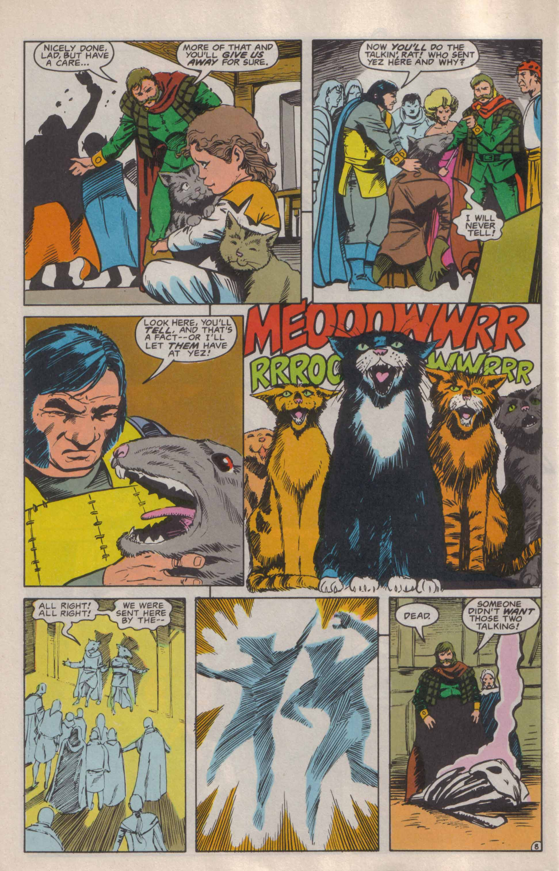 Read online Advanced Dungeons & Dragons comic -  Issue #6 - 9