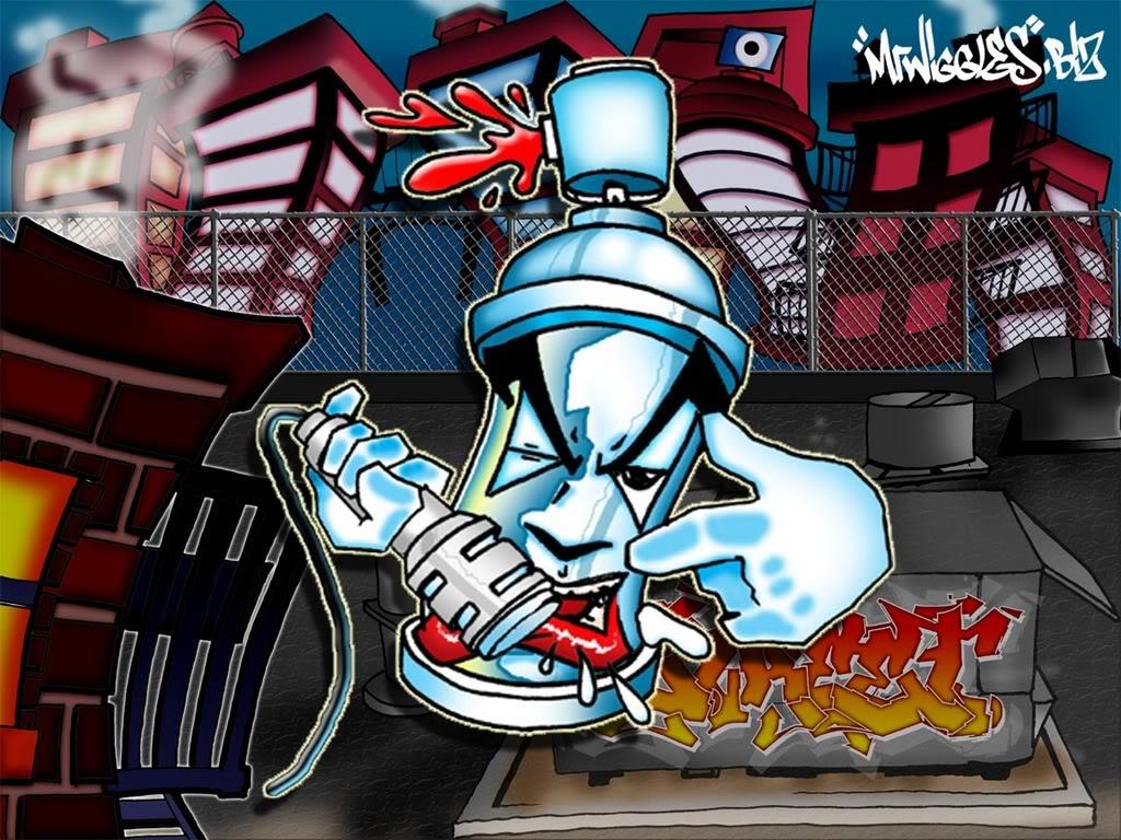 Artistic Freedom desain grafity