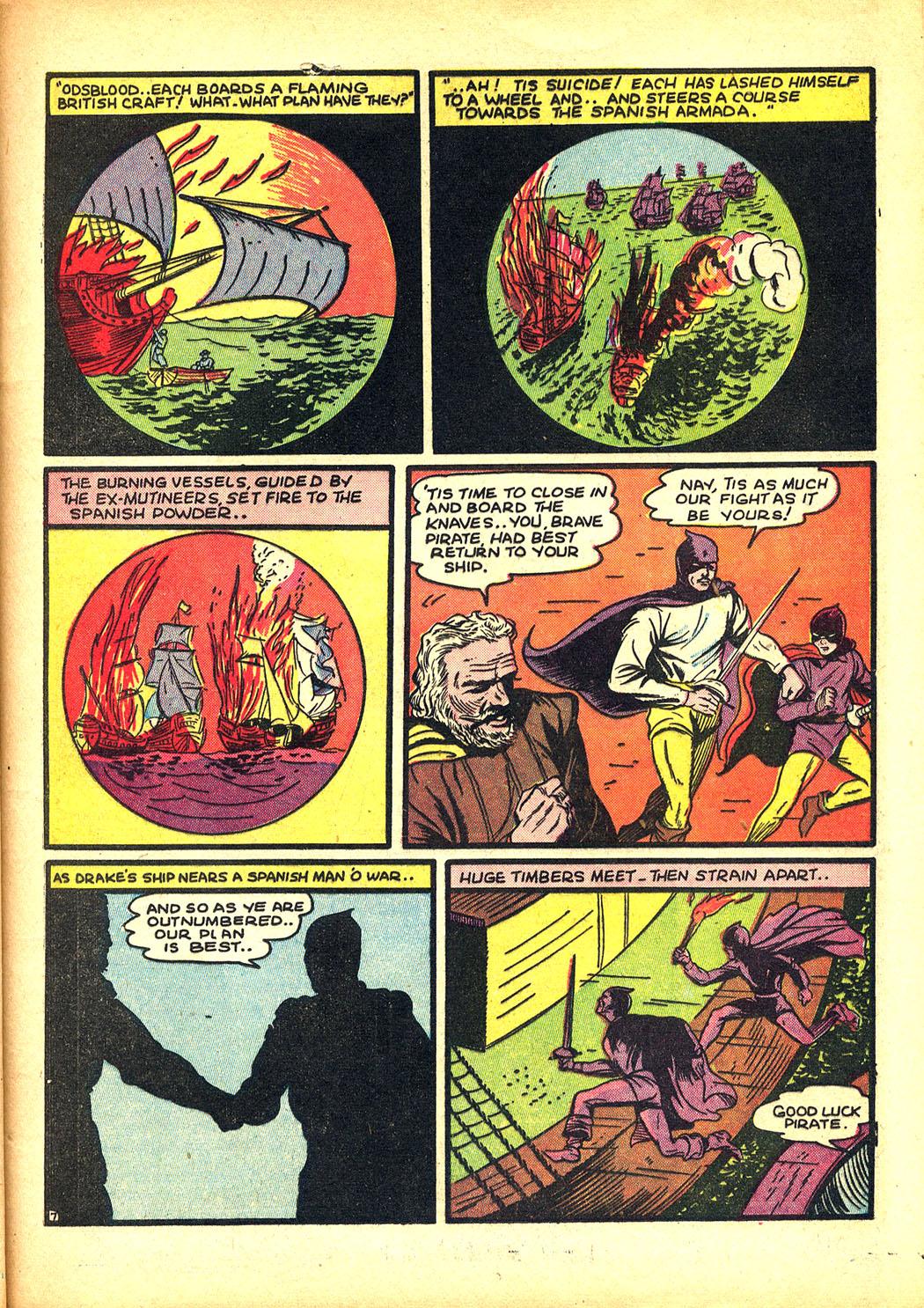 Read online Sensation (Mystery) Comics comic -  Issue #8 - 23