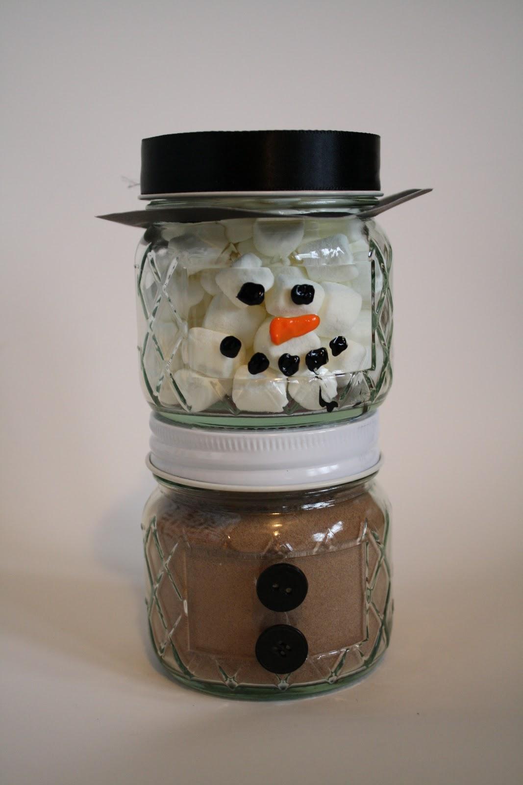 Easy Diy Holiday T Hot Chocolate Jar Idea