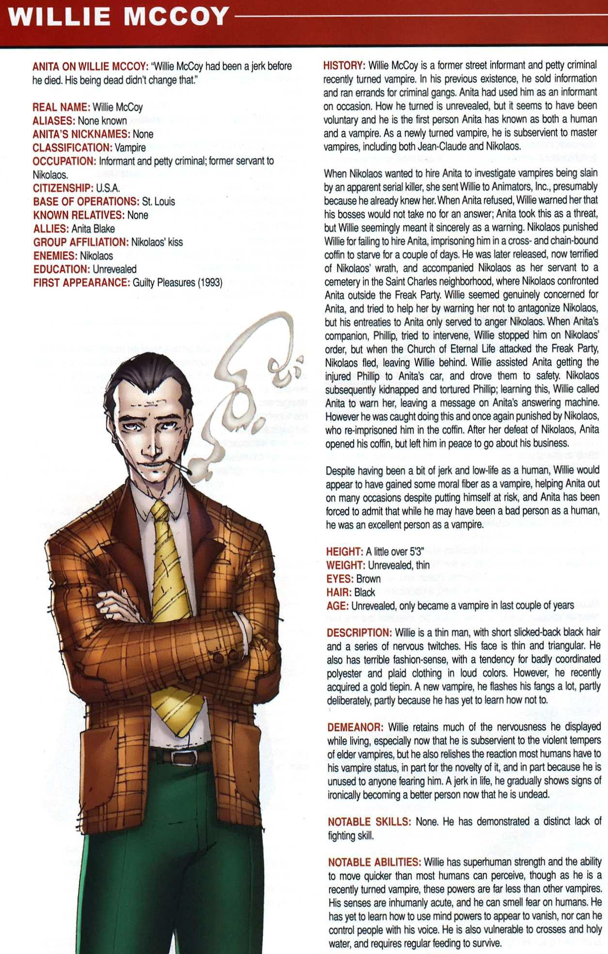 Read online Anita Blake, Vampire Hunter: Guilty Pleasures Handbook comic -  Issue #Anita Blake, Vampire Hunter: Guilty Pleasures Handbook Full - 22