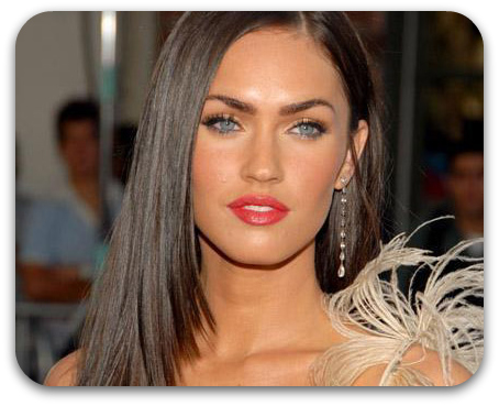 Megan Fox Natural Hair