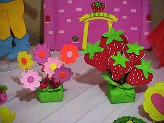 Creaciones Infantiles Decoracion De Fresita Rosita