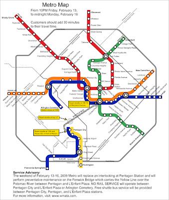 Track Twenty Nine Metro Advisory Major Disruptions 2 13 2 16