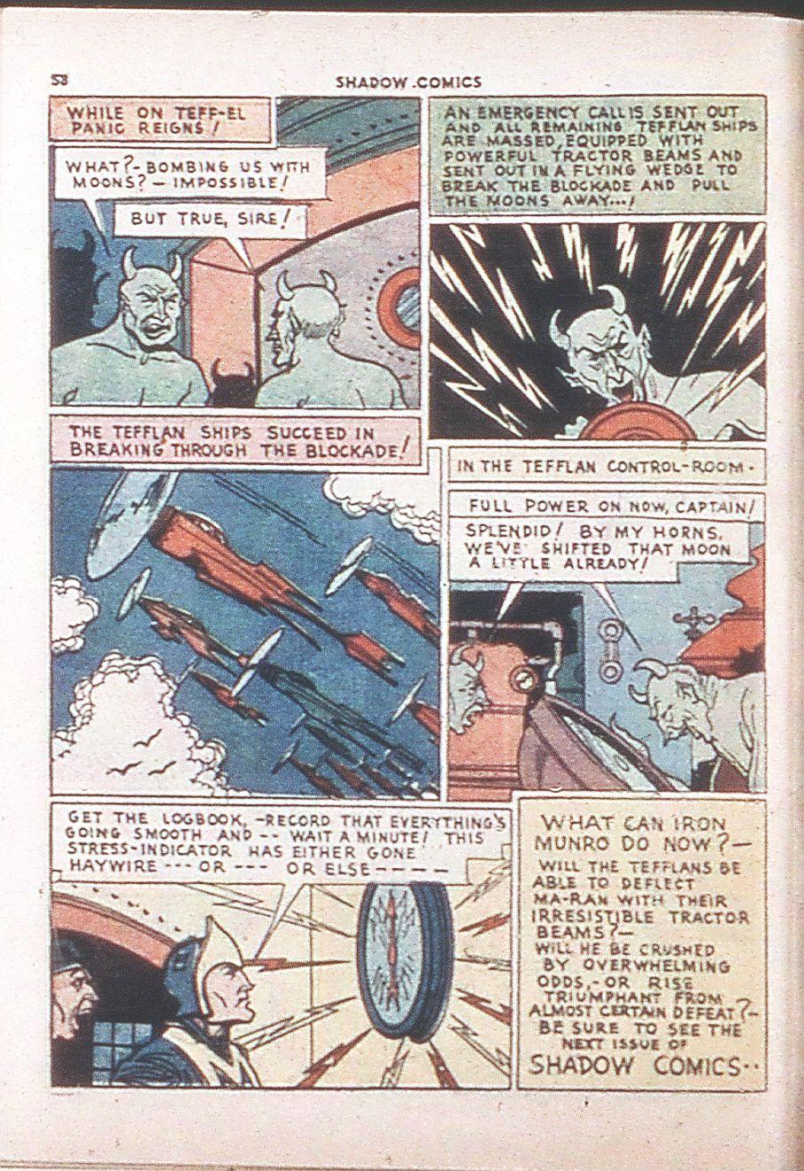 Read online Shadow Comics comic -  Issue #6 - 60
