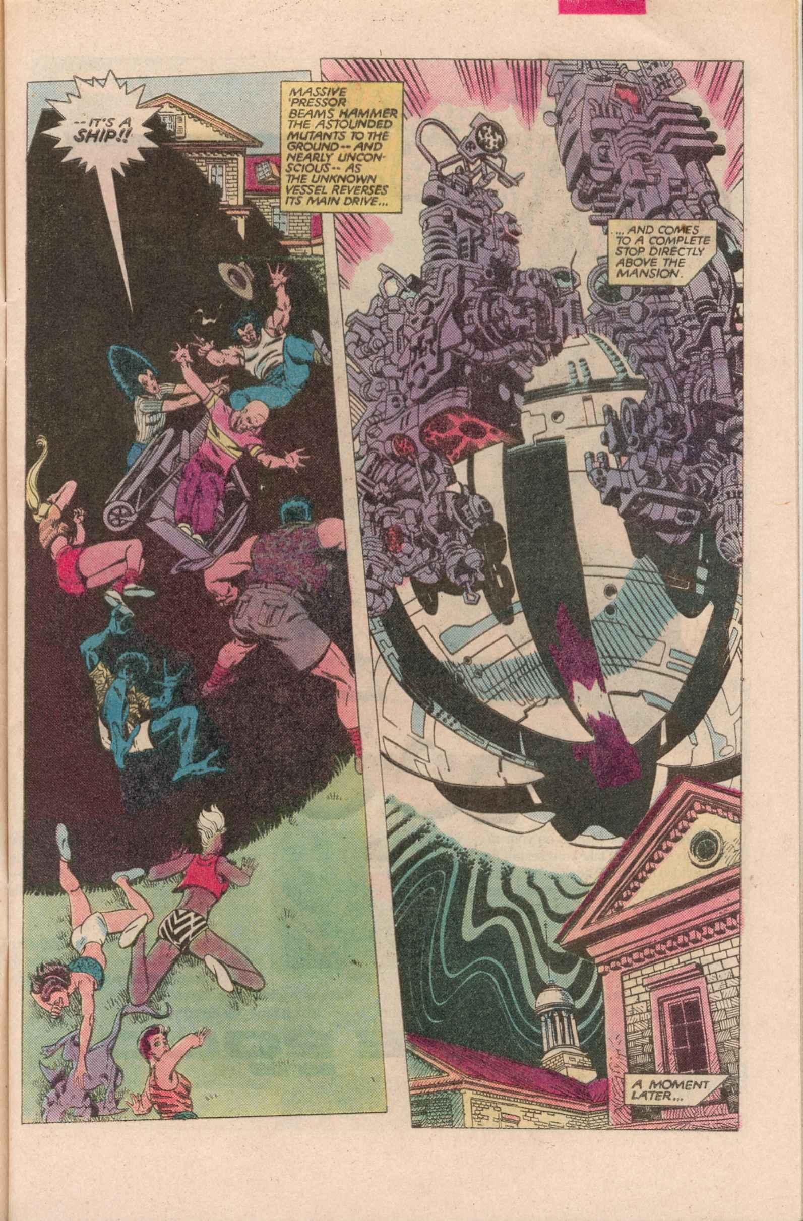 Read online Uncanny X-Men (1963) comic -  Issue # _Annual 7 - 4