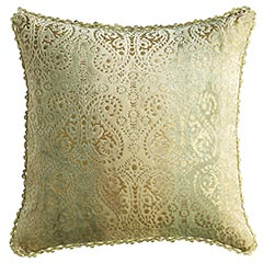 Pier 1 Imports Green Ombre Paisley Pillow