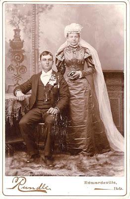 My Artistic Side: 1800's Wedding Photo