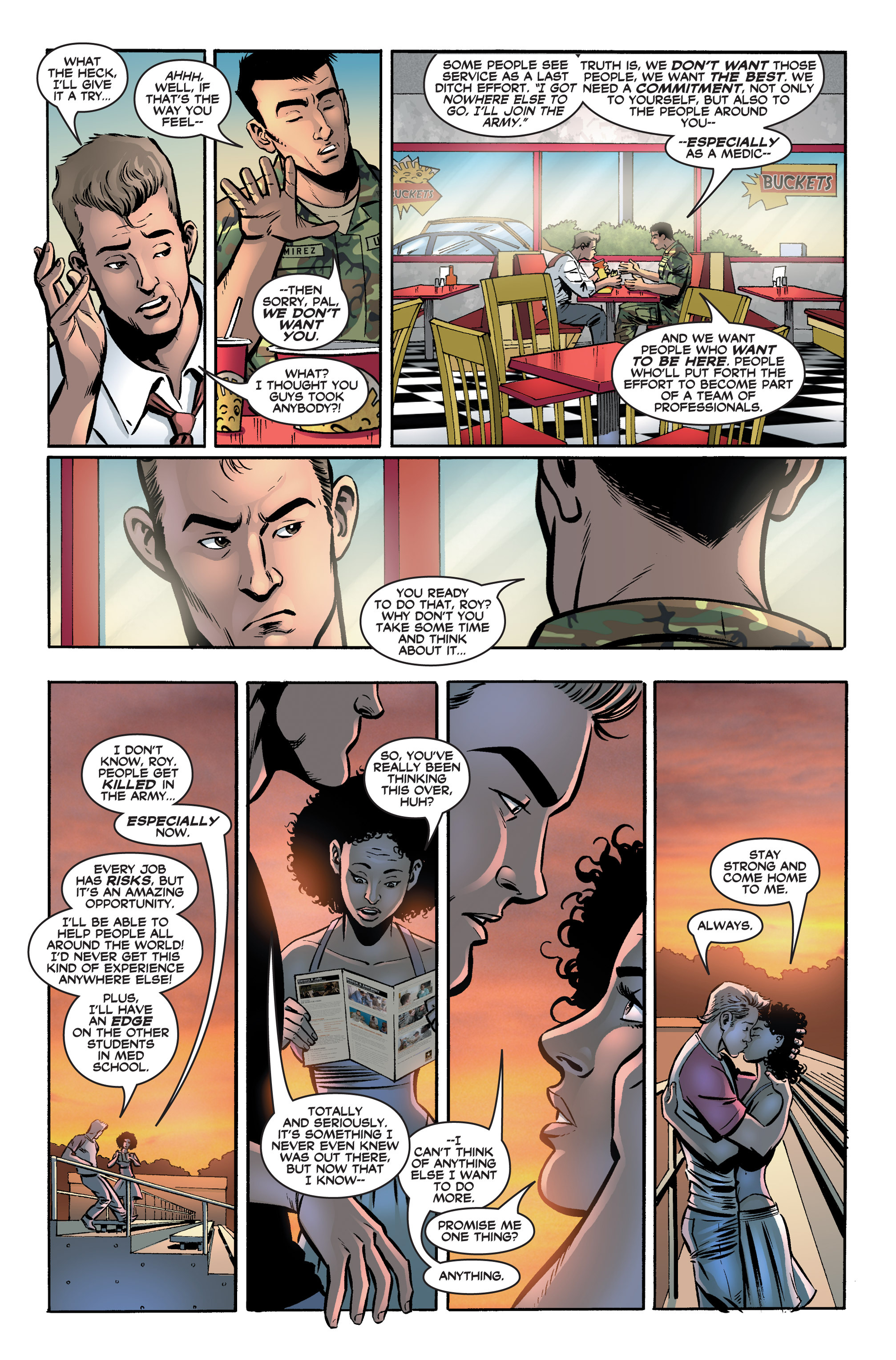Read online America's Army comic -  Issue #2 - 10