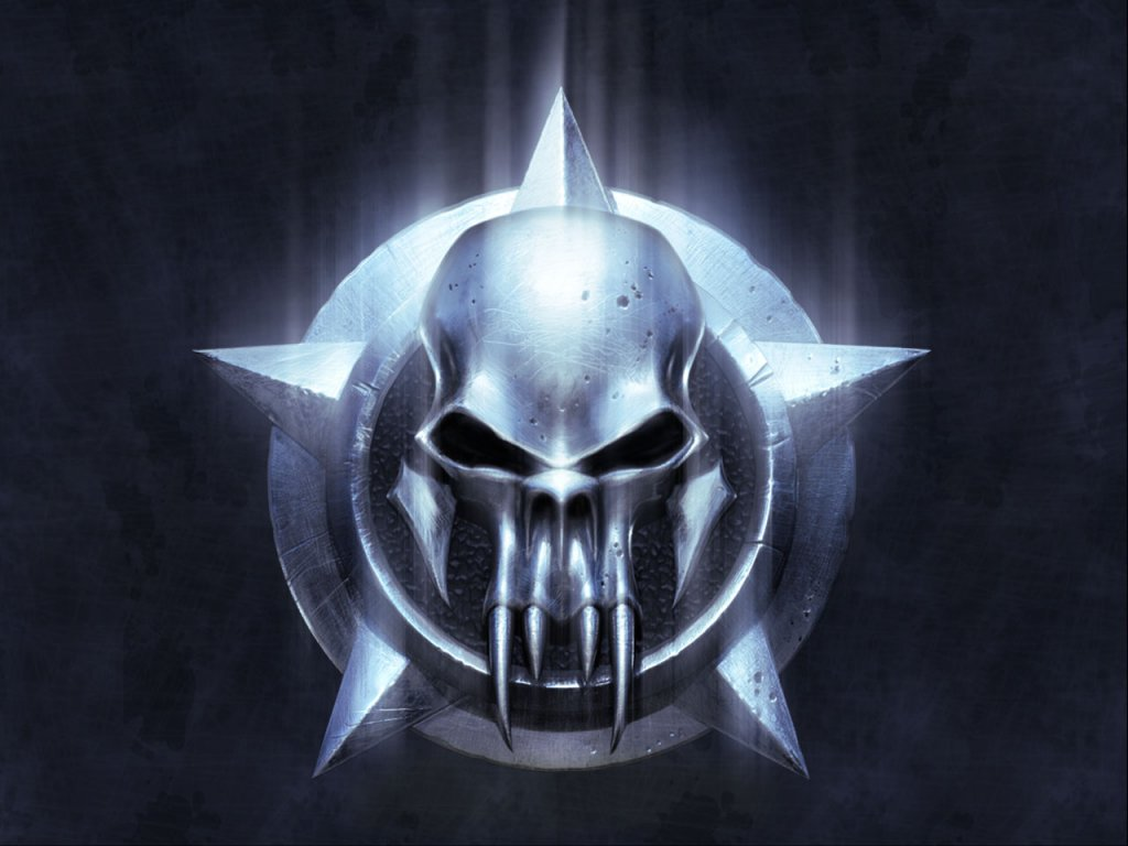 evil demon skulls wallpaper - photo #23