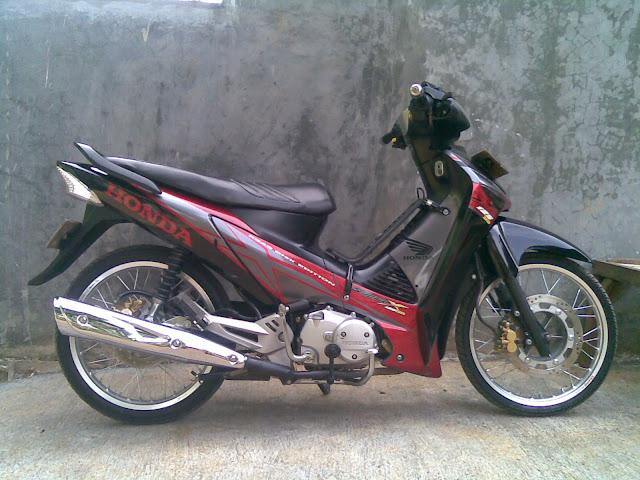 Modifikasi Sepeda Motor Supra X 125 Pemudi I