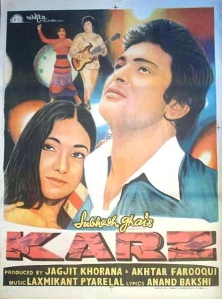 Karz (1980) Movie Poster