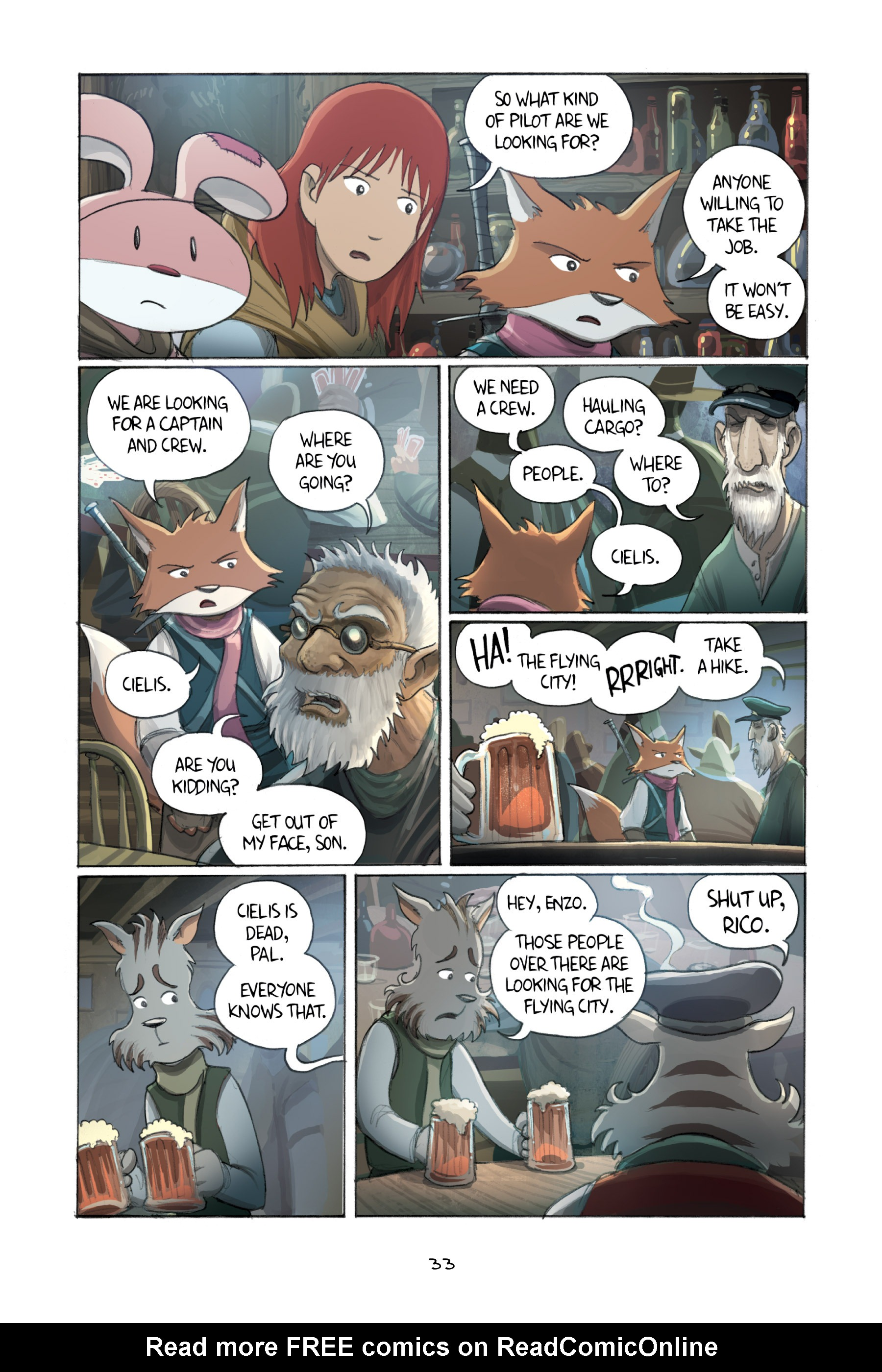 Read online Amulet comic -  Issue #3 - 32