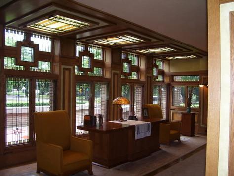 Cafe epoque frank lloyd wright - Frank lloyd wright architecture style ...