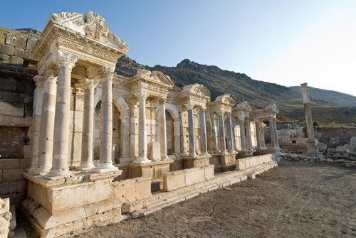 Sagalassos Antik Kenti Resimleri
