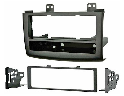 2008 Nissan Rogue Single DIN Radio Install Kit