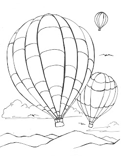 creator 39 s joy hot air balloon coloring page. Black Bedroom Furniture Sets. Home Design Ideas