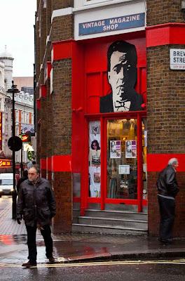 Fresh eyes on London: Vintage Magazine Shop