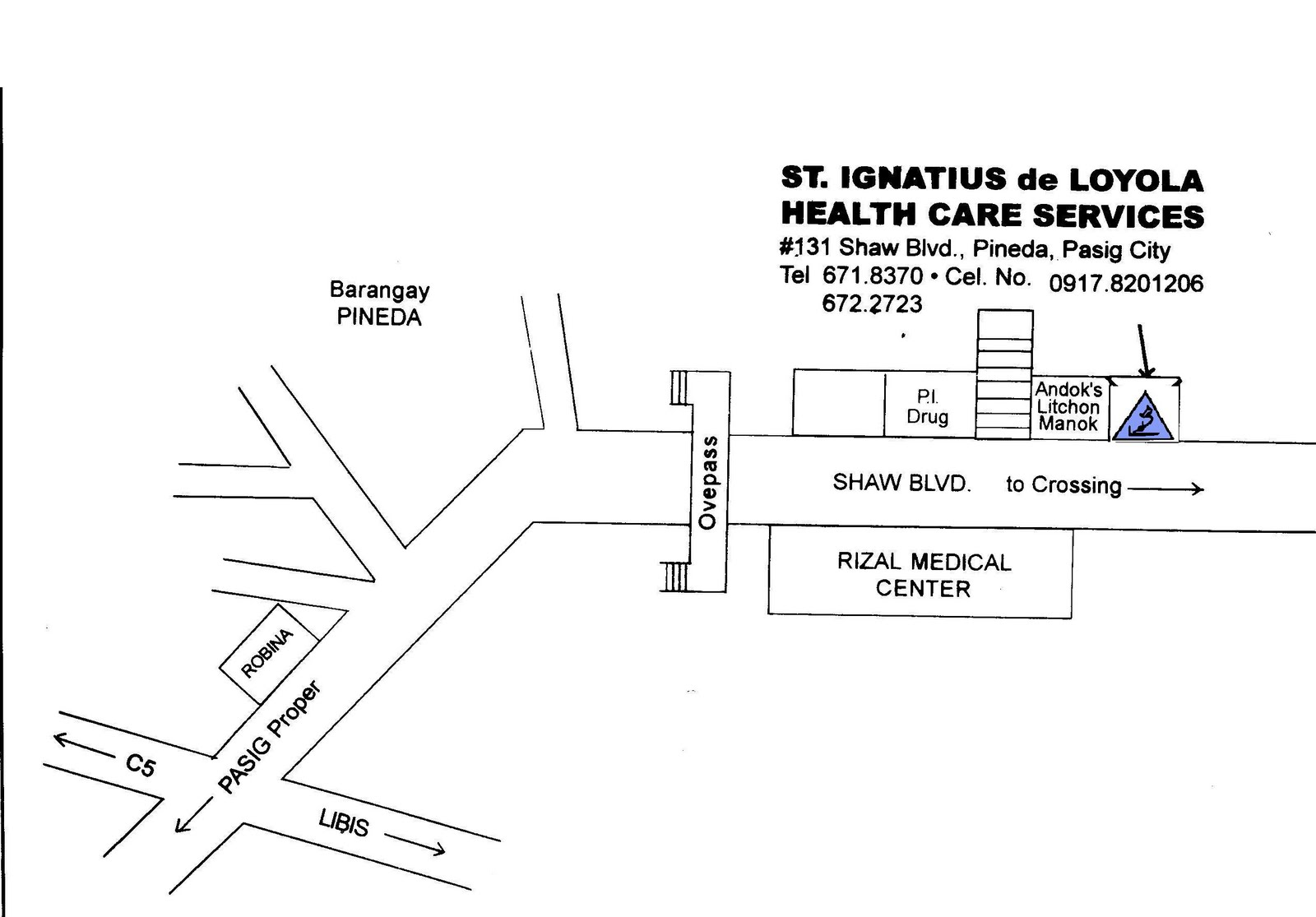 St Ignatius De Loyola Health Care Services Contact Us