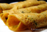 Mixed Vegetable Dosa