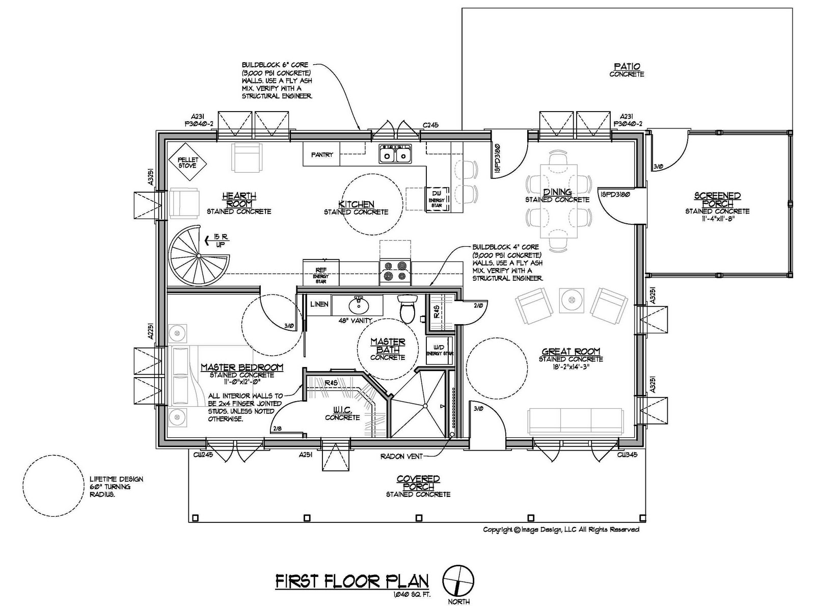Residential house blueprint symbols for Residential blueprints