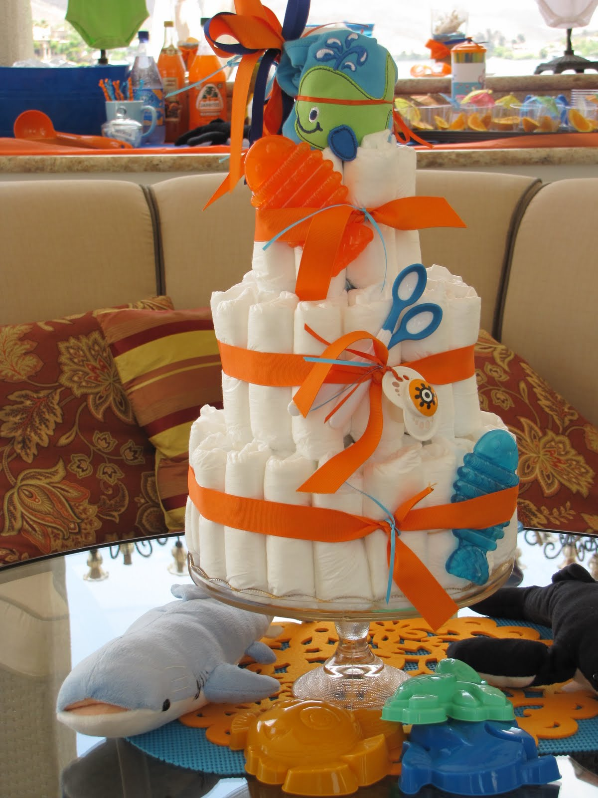 The Beach Baby Shower Theme Is Perfect For A Spring Or ...