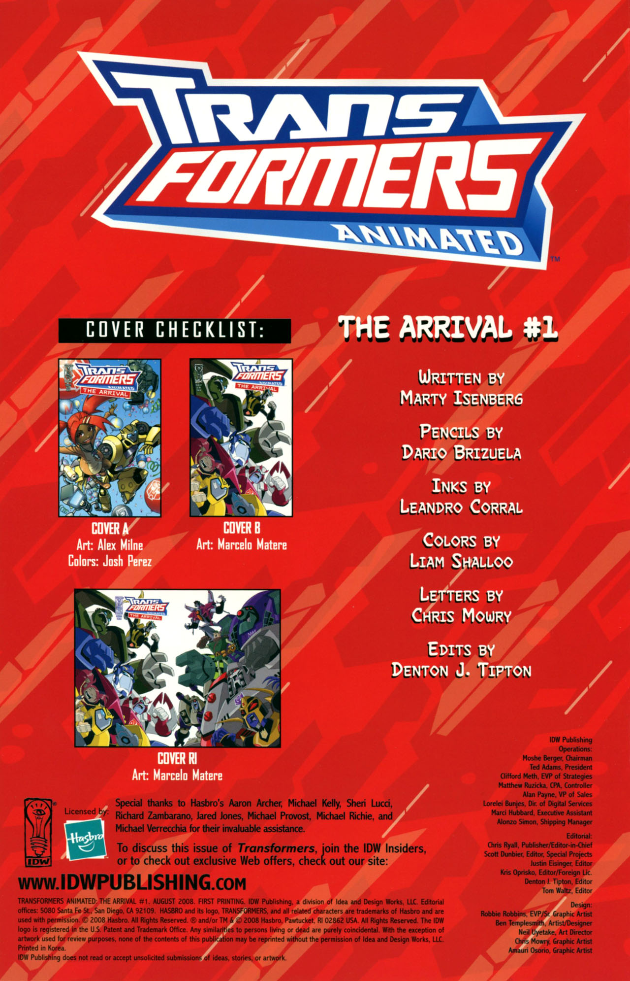 Read online Transformers Animated: The Arrival comic -  Issue #1 - 3