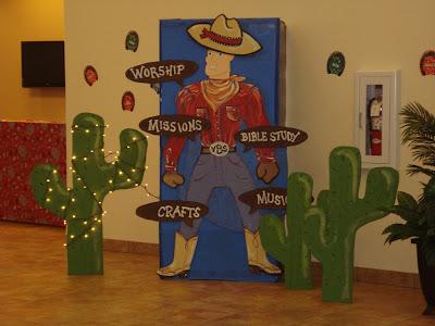 Margie Whittington Art Vacation Bible School 2010
