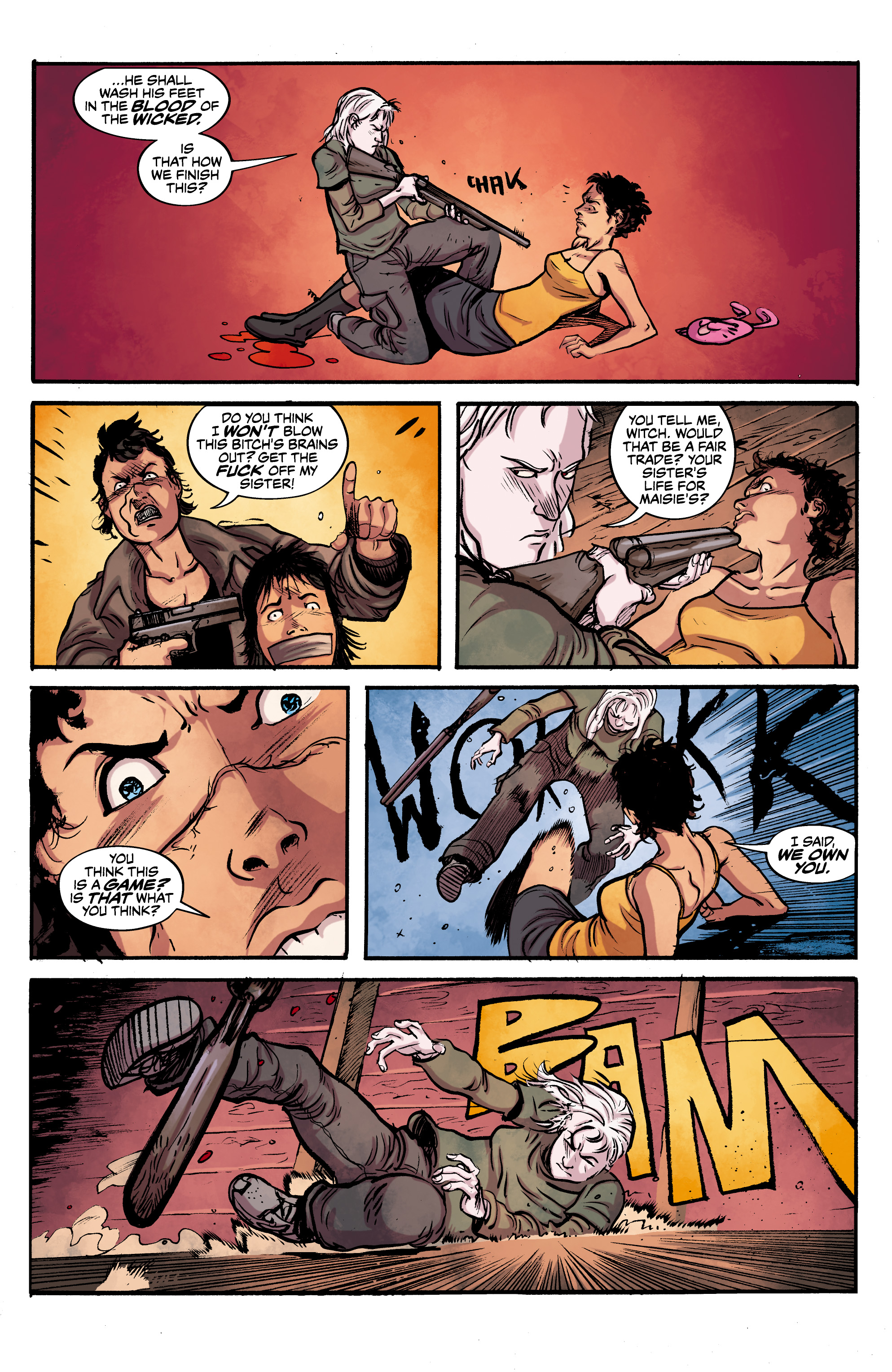 Read online Alabaster: The Good, the Bad and the Bird comic -  Issue #4 - 21
