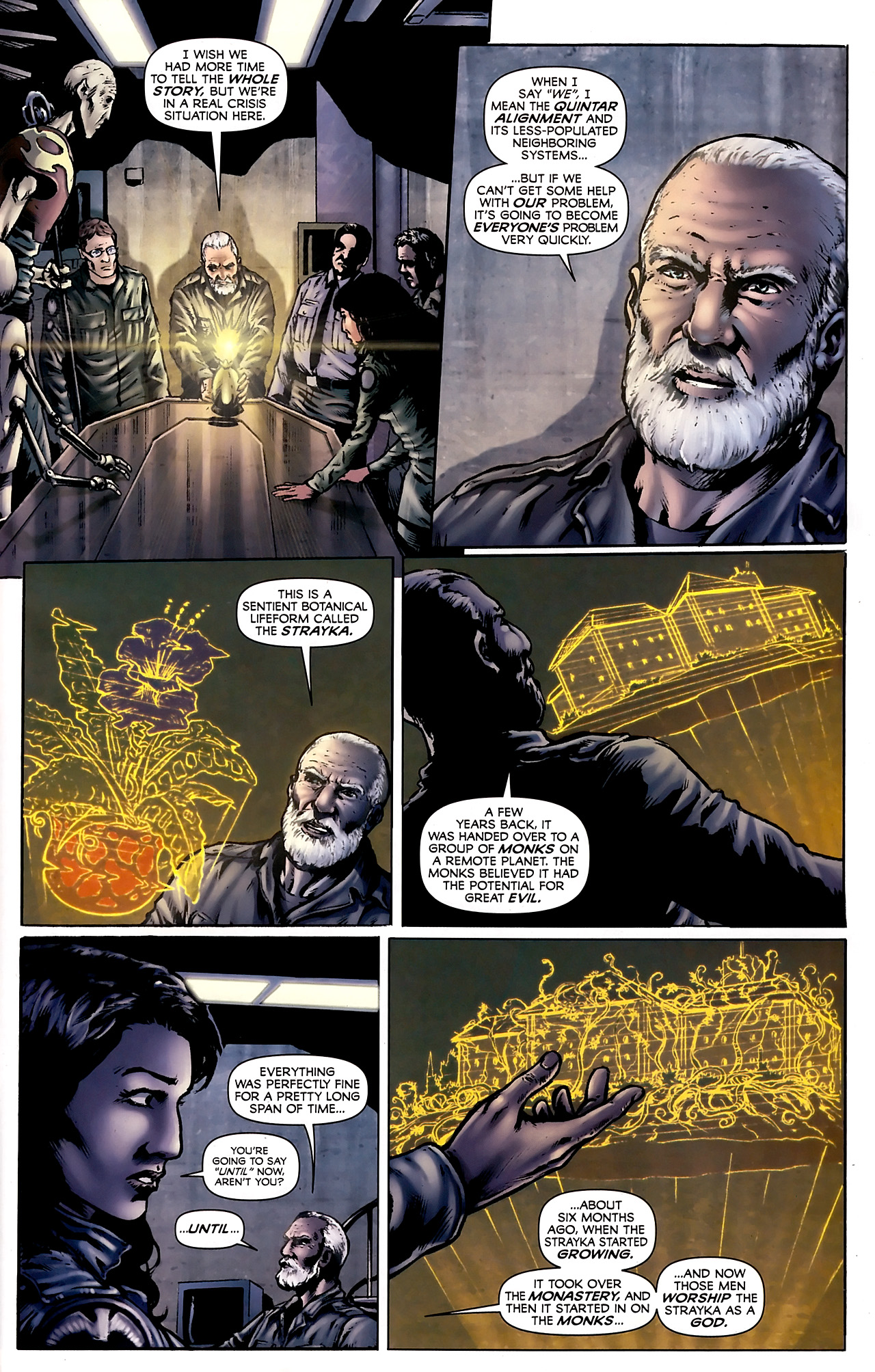 Read online Stargate Vala Mal Doran comic -  Issue #3 - 21