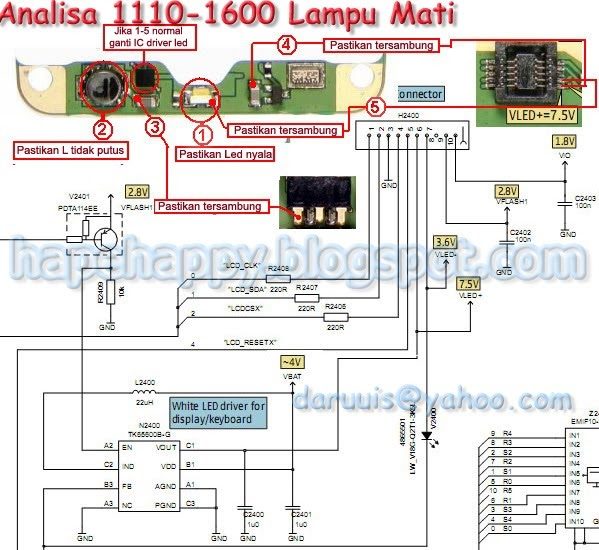 TIPS DAN TRIK HANDPHONE: ALL NOKIA Schematic Diagram