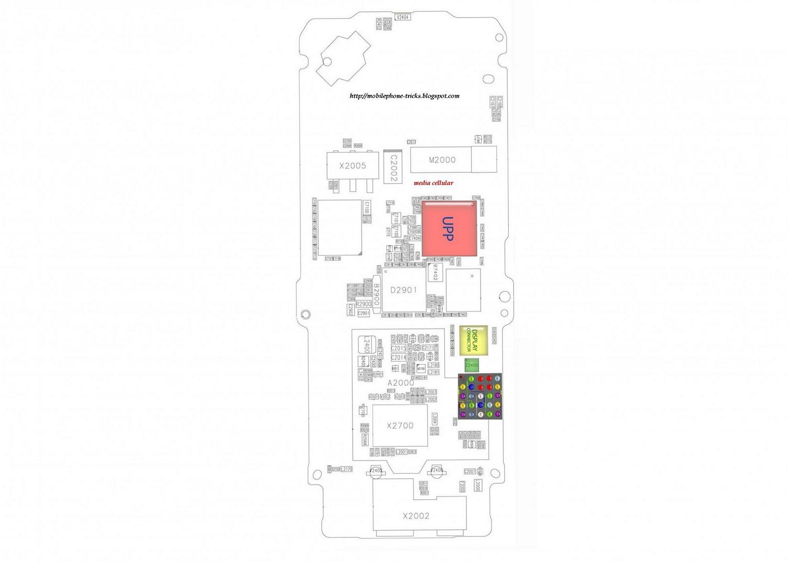 MOBILE PHONE TIPS & TRICKS: Nokia 1200/1208 Keypad Jumper