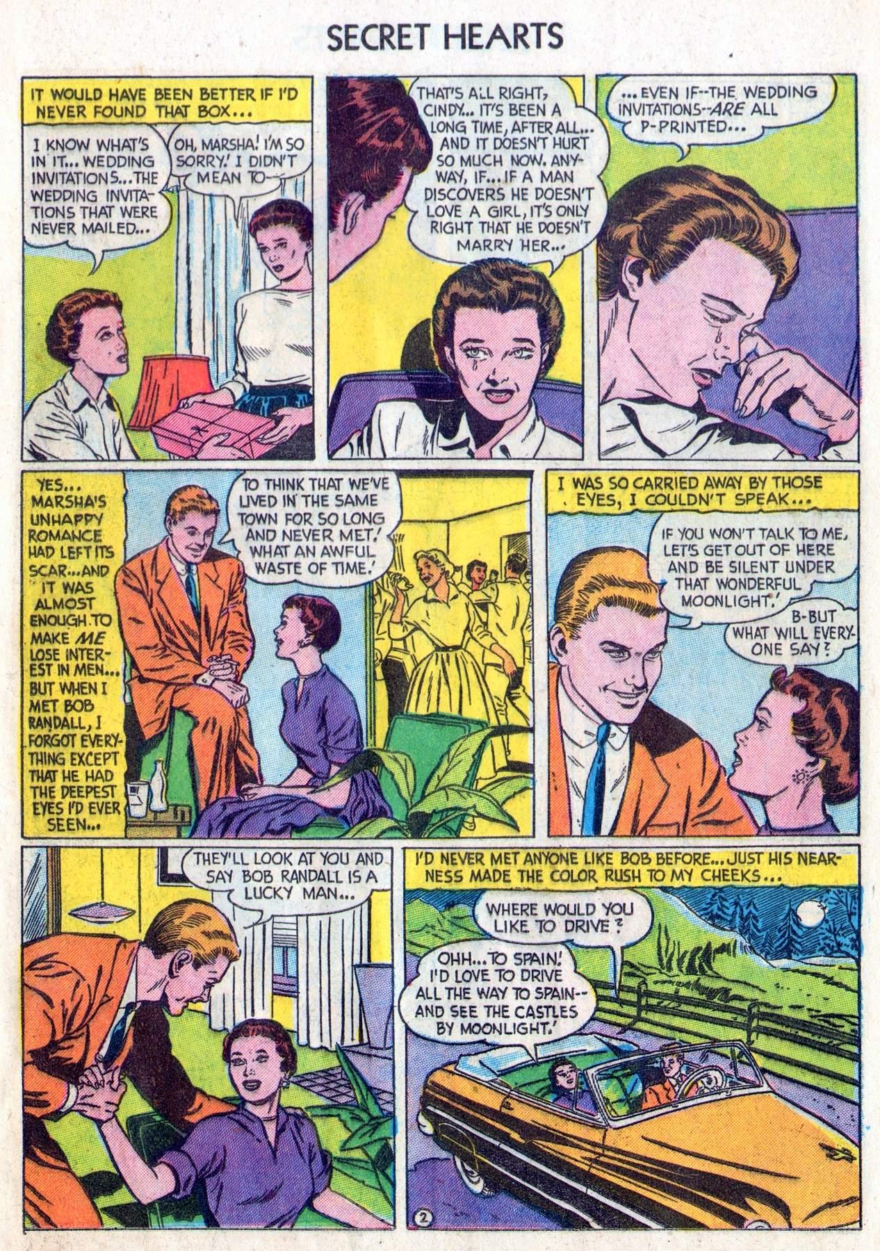 Read online Secret Hearts comic -  Issue #28 - 11