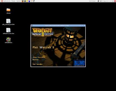 Ubuntu Living: Playing Warcraft II