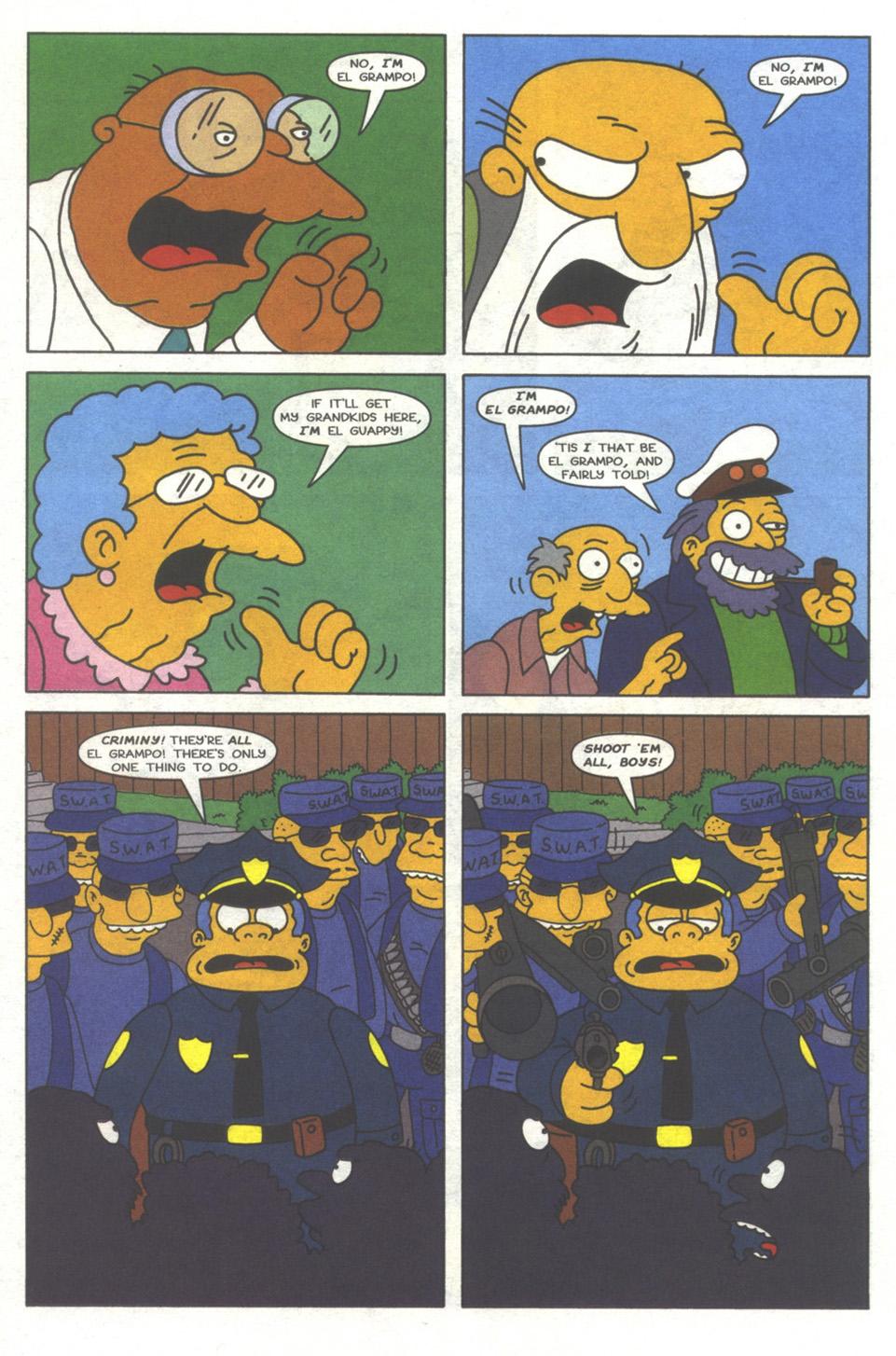 Read online Simpsons Comics comic -  Issue #37 - 21