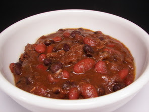 Beef, Black Bean and Chorizo Chili