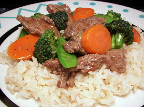 Flank Steak and Vegetable Stir-Fry