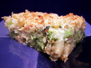 Broccoli Mac and Cheese Gratin