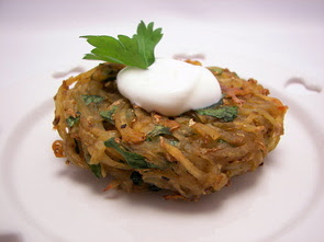 Indian-Spiced Baked Potato Cakes