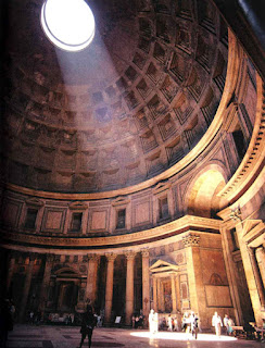My Architectural Moleskine 174 The Light And The Pantheon