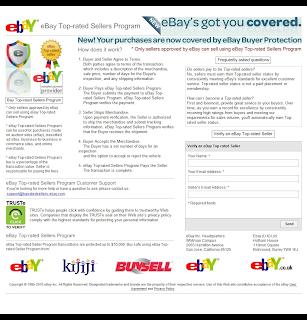 Internet Scammers Ebay Topratedsellerprogram Com Fraud
