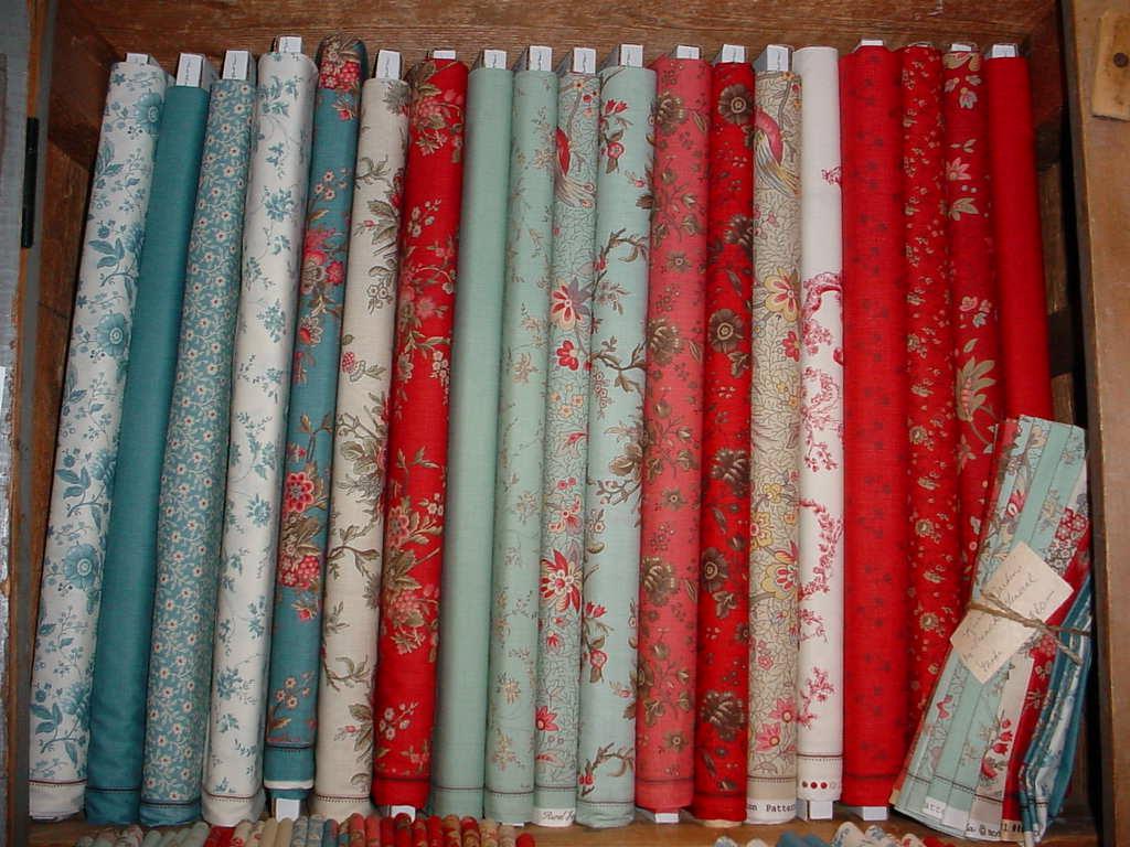 Busy Thimble More New Fabrics